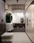 Łazienka z prysznicem typu walk-in