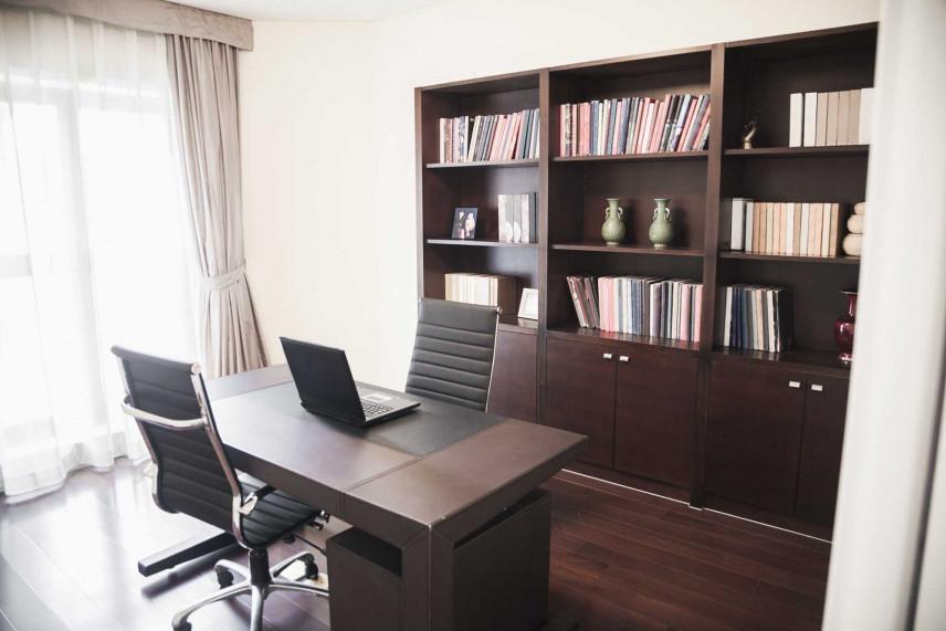 Klasyczne biuro w stylu adwokackim