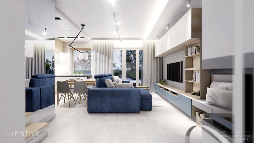 Dom w nowoczesnym stylu skandynawskim