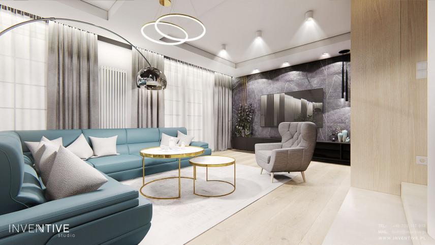 Projekt salonu Art Deco