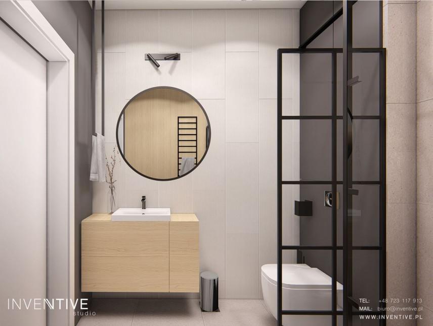 Designerska łazienka w minimalistycznym stylu