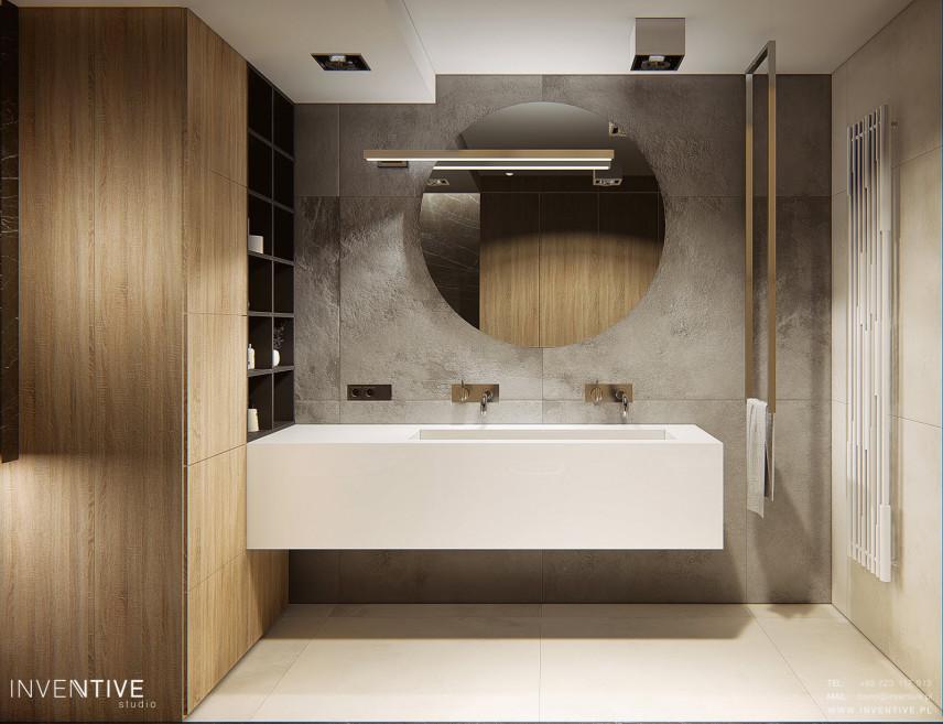 Elegancka i nowoczesna łazienka