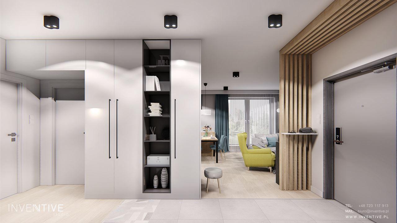 Projekt wejścia do mieszkania