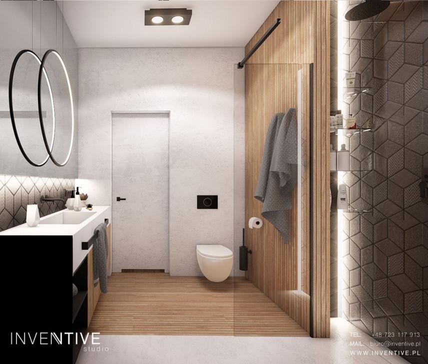 Łazienka z prysznicem