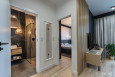 Projekt przedpokoju w mieszkaniu w stylu skandynawskim