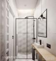 Aranżacja łazienki z białymi drzwiami