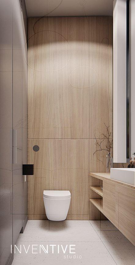 Mała łazienka z muszlą klozetową