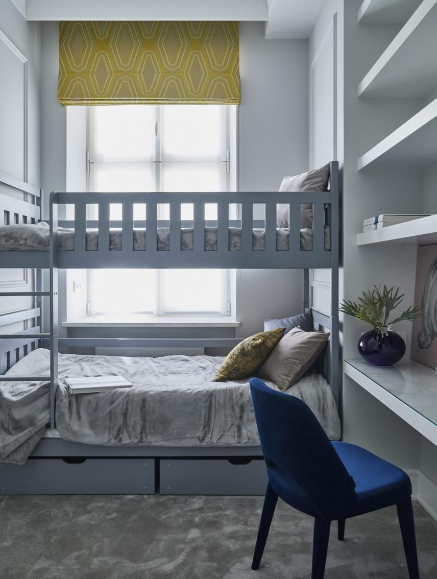 Pokój z piętrowym łóżkiem