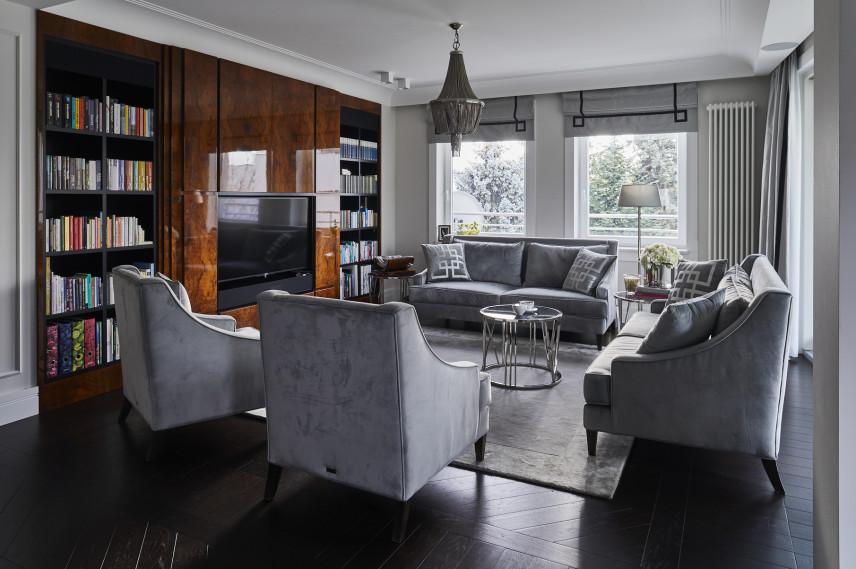 Salon w stylu Art Deco