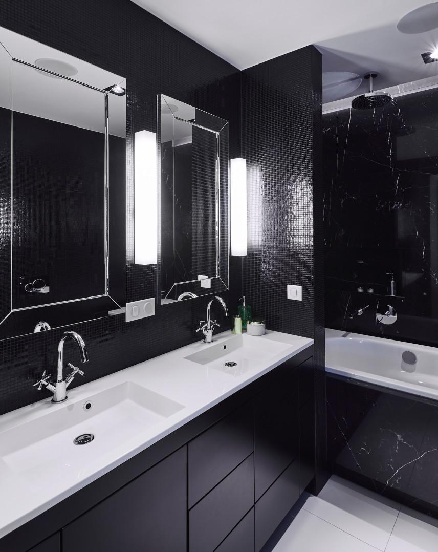 Aranżacja łazienki z wanną w zabudowie