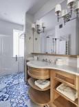 Elegancka łazienka w stylu skandynawskim