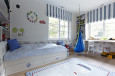 Pokój chłopca w kolorze biało-niebieskim