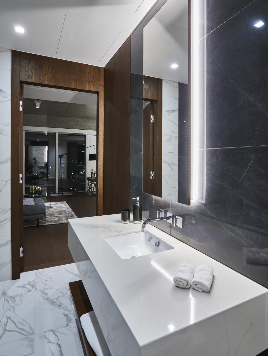 Aranżacja łazienki w apartamencie
