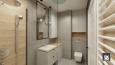 Aranżacja łazienki z elementami drewna