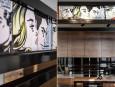 Ściana nad kuchnią w stylu pop-art