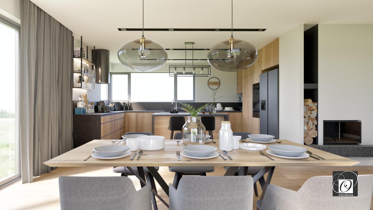 Aranżacja kuchni w stylu loft