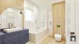 Aranżacja łazienki w stylu scandi