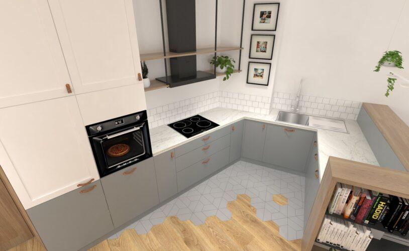 Aranżacja małej kuchni z wykorzystaniem miejsca do maksimum
