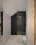 Tynk mozaikowy w łazience