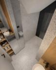 Łazienka z meblami w zabudowie