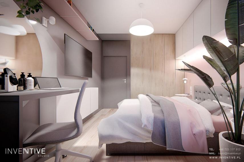 Sypialnia z toaletką