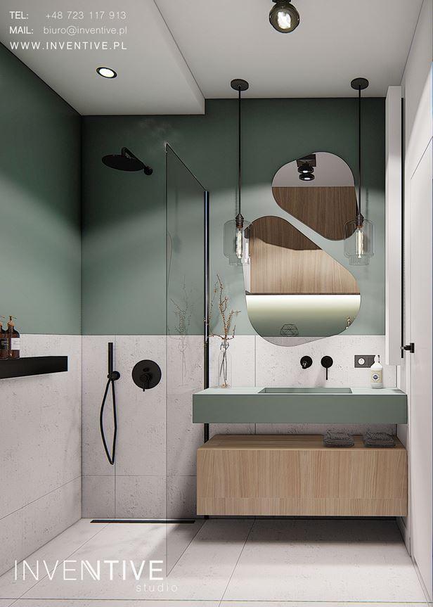 Aranżacja łazianki w stylu nowoczesnym