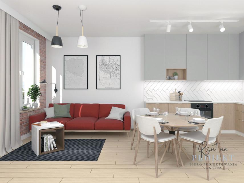 Małe, stylowe mieszkanie w kamiennicy