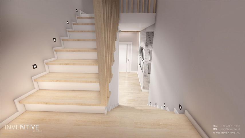 Projekt schodów z podświetleniem Led