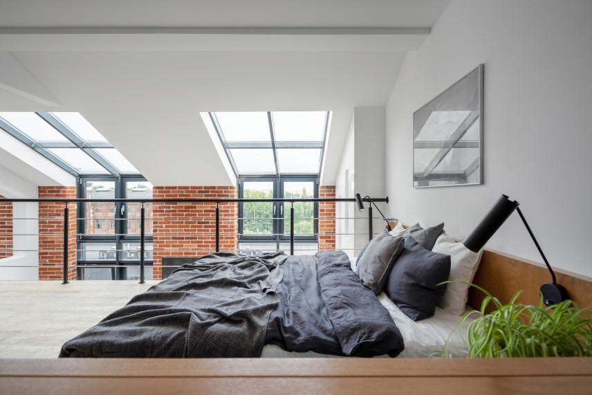 Antresola w loftowym stylu
