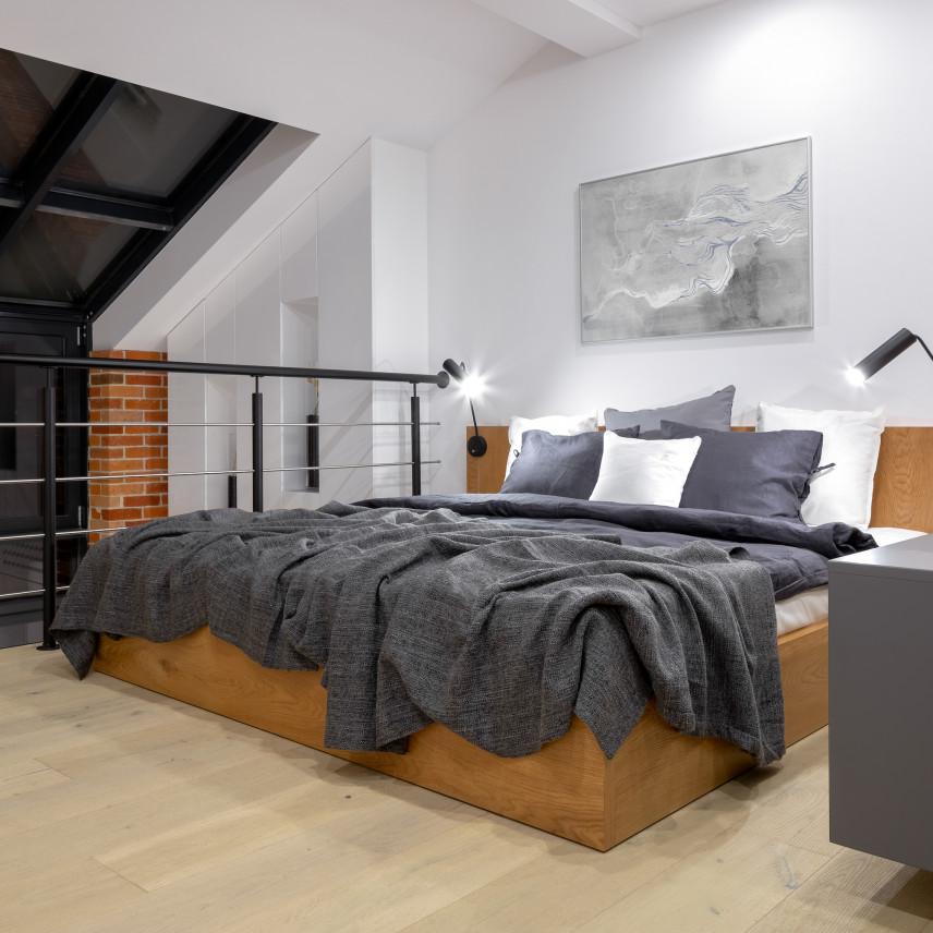 Sypialnia na natresoli