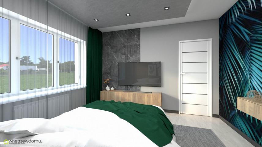 Pokój nastolatki z telewizorem na ścianie