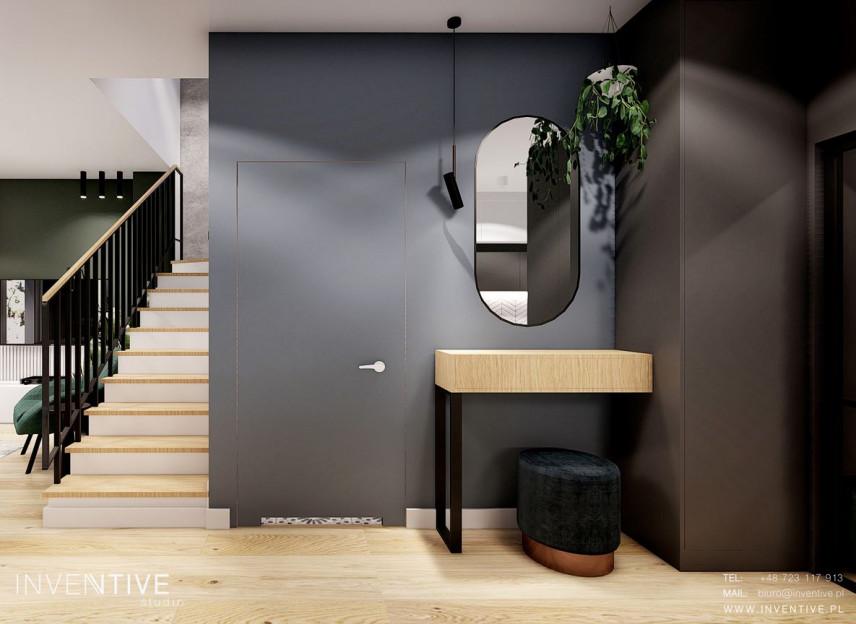 Aranżacja korytarza ze schodami