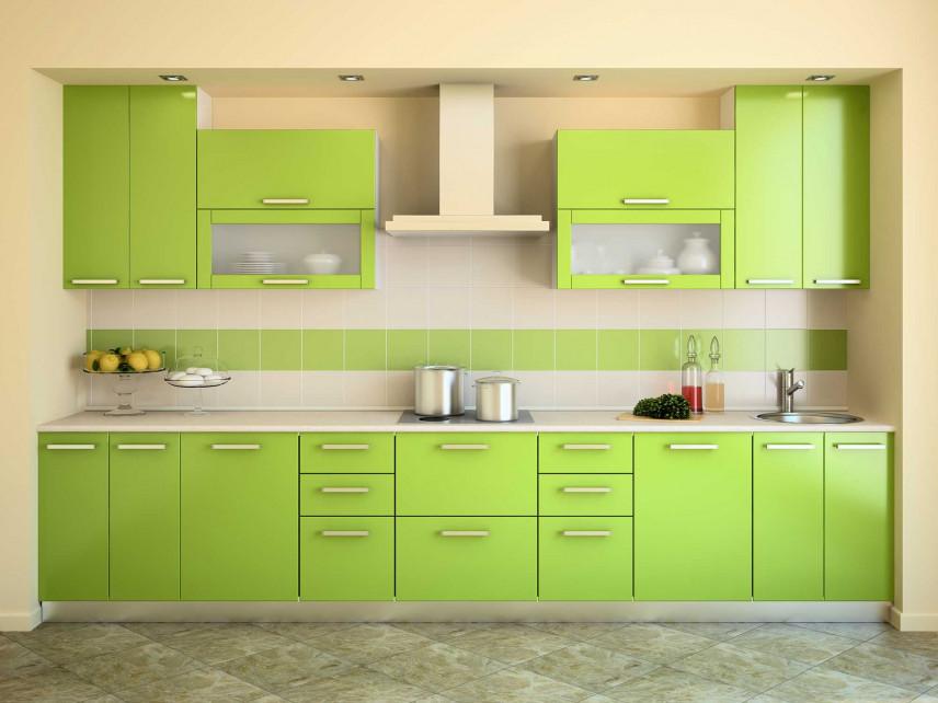 Projekt zielonej kuchni