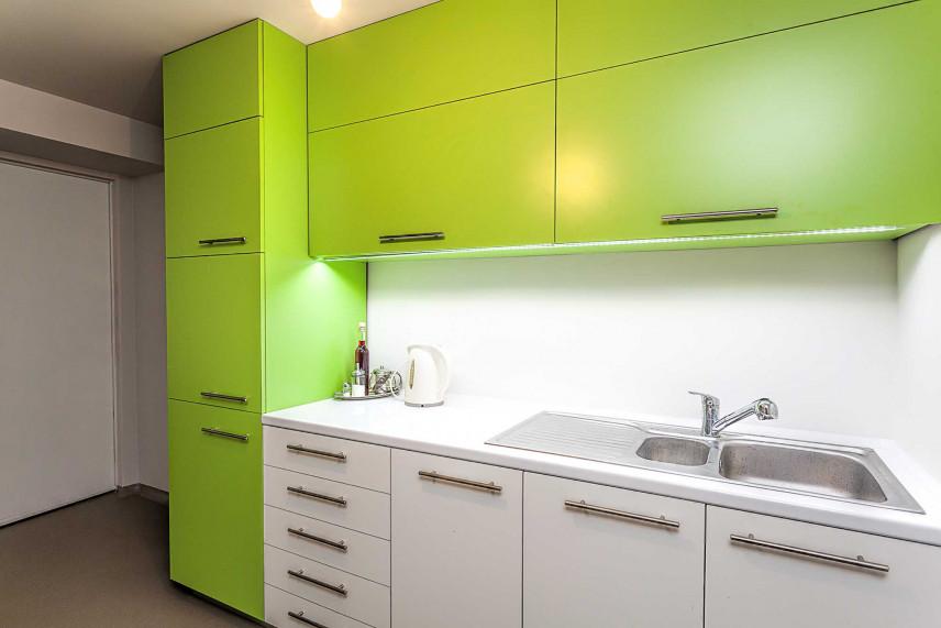 Mała zielna kuchnia